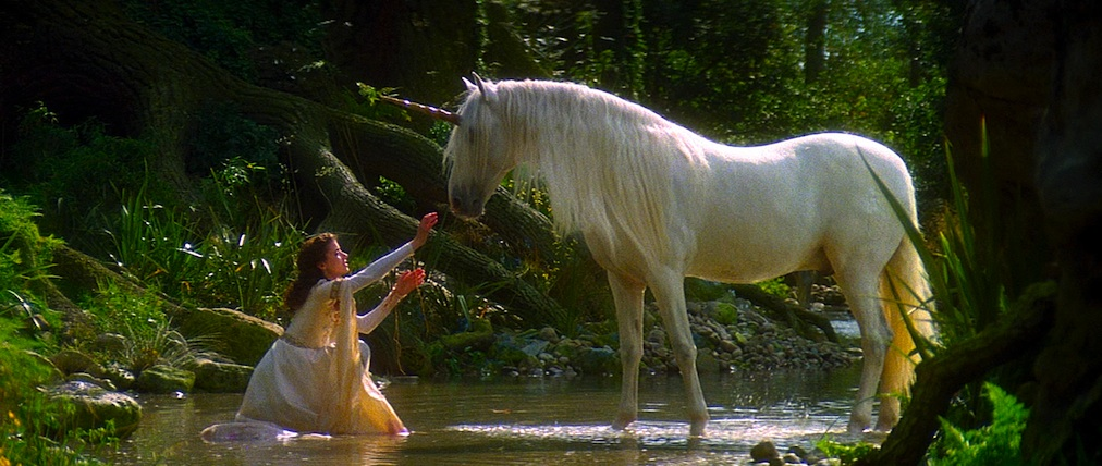 Mia Sara in 1985's LEGEND. ©Universal Pictures