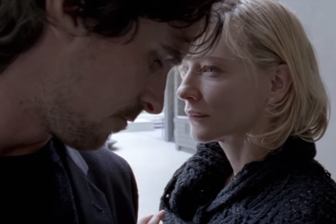 Christian Bale and Cate Blanchett in Terrence Malik's Knight of Cups.